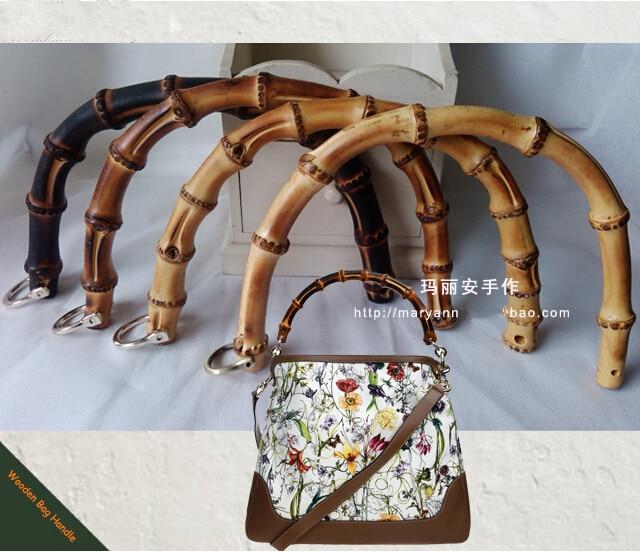 China  Diy Bamboo Purse Handle Wholesale Bag Accessories Elegance Bamboo Bag Handle