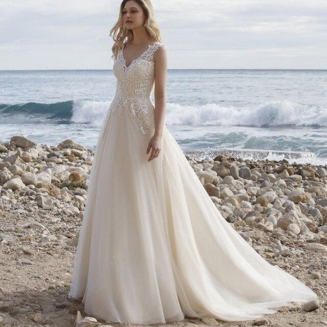 Robe de Mariée Bohème Romantique Emmy