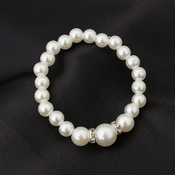 Classic White Pearl Jewelry Set 6