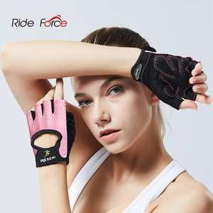 Hand-Protector Lifting Fitness-Gloves Power-Weight Gym Half-Finger Workout Crossfit Bodybuilding