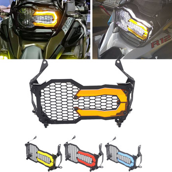 For BMW R1200GS R1250GS Headlight Guard Protector Grille Grill Cover R 1250 GS Adventure R 1200 GS ADV / LC Acrylic Lamp Patch image