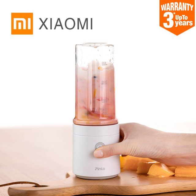 $ US $26.36 New XIAOMI MIJIA Pinlo Blender Electric Kitchen Juicer Mixer Portable food processor charging using quick juicing cut off power