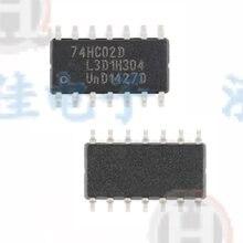 10 PÇS/LOTE 74HC02 74HC02D SN74HC02 SN74HC02DR SMD SOP-14 Novo
