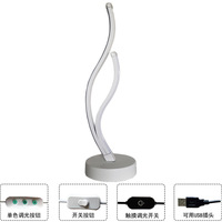 Postmodern intelligent lamp Amazon cross border contracted for factory outlet mini art LED desk lamp sell like hot cakes