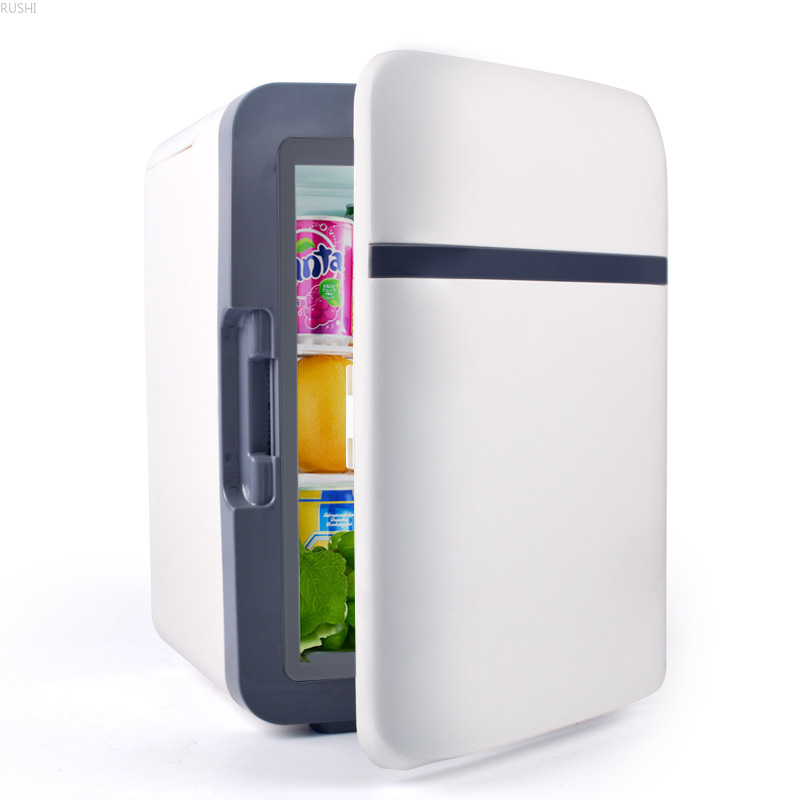 220V 10L  Car Fridge  Mini Refrigerator Car Gift Activity Gifts Refrigerator  Mini Fridges  Refrigerators