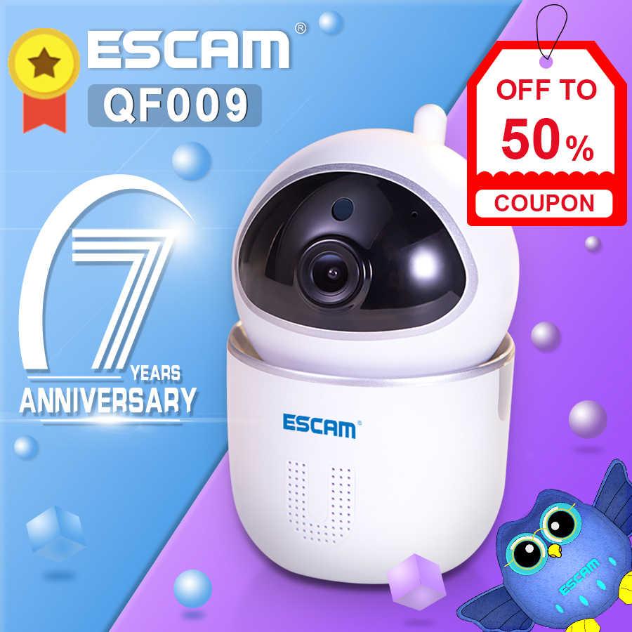 Новейший ESCAM QF009 1080P 2MP панорамирование/наклон WiFi Крытый IP ИК камеры наблюдения CCTV день ночной видео монитор Мини камера
