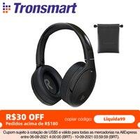 Tronsmart Apollo Q10 Bluetooth 5.0 cuffie attiva cancellazione del rumore cuffie Wireless with100-hour tempo di riproduzione, Touch/controllo App