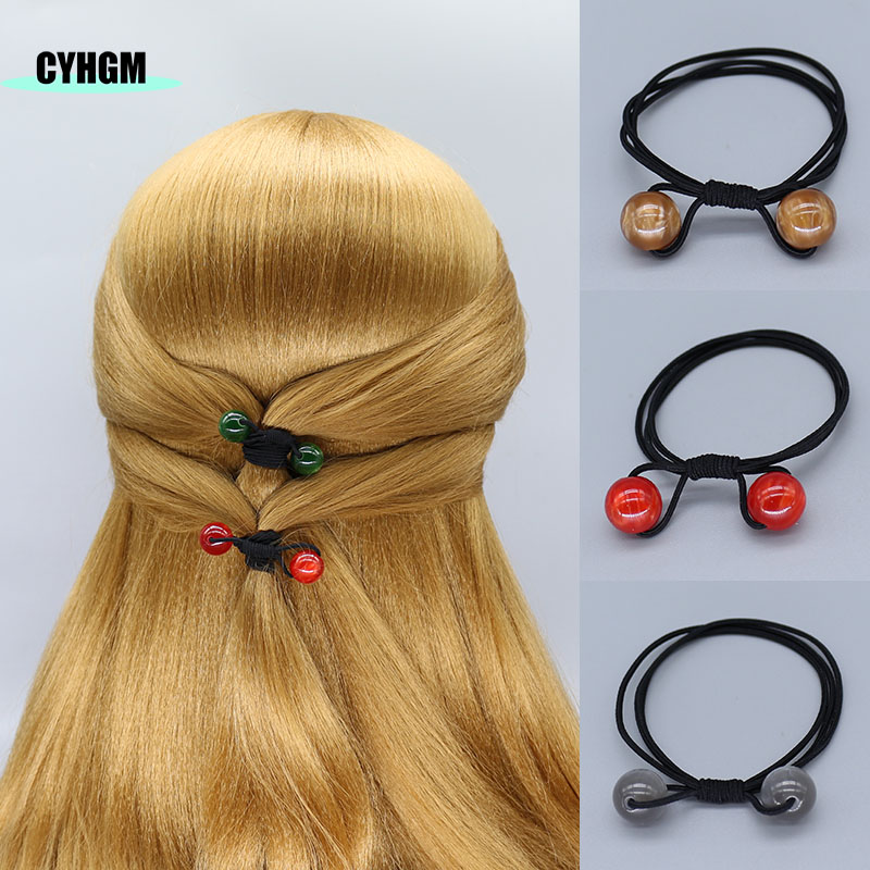 Girls Elastic Hair Bands Hair Rubber Band Hair Scrunchies Pack  Hair Ties Scrunchy In Women's Hair Accessories Halloween F13-1