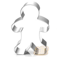 Christmas Gingerbread Man Cookie Mold Stainless Steel Cake Decorating Tools Baking Biscuit Cutter christmas tree cookies cutter stainless steel biscuit cake mold baking tools
