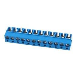 12P Plug in PCB złącze śrubowe blokowe 5mm dla 14 22 AWG drutu w Zaciski od Majsterkowanie na