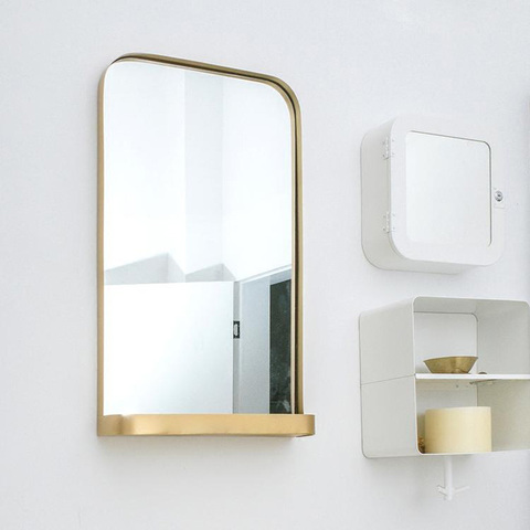 nordic banheiro espelho de parede casa quarto