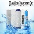 5 Umkehrosmose RO Wasser Filter Ersatz Set mit Wasser Filter Patrone 75/100/125GPD Membran Home Küche