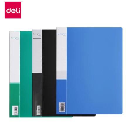 5303 File Folder Single Spring Insert Bag A4 Double Hole Folders Storage Folder Paper Organizer Stationery Office Supplies