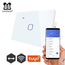 Настенный светильник контроллер US Wifi с управлением через приложение, умный дом, автоматизация, сенсорный выключатель, водонепроницаемый, огнестойкий, 1G, 2G, 3G, ВКЛ./ВЫКЛ.
