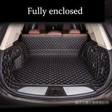 custom car trunk mat for SKODA Superb Fabia Octavia A5 A7 Rapid Yeti Combi Karop Kodiaq 5seat 7seat 2007-2019s tail box mats
