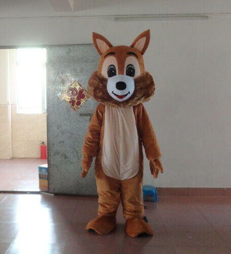 Halloween écureuil Animal mascotte Costume Cosplay partie jeu déguisements vêtements carnaval adultes publicité Parade personnage