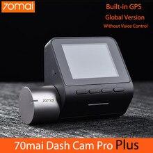 70mai traço cam pro plus versão global 70 mai câmera do carro traço automático embutido gps 1944p adas carro dvr dashcam gravador de vídeo
