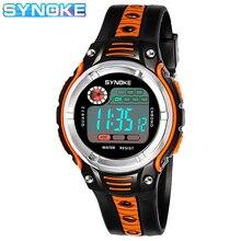 SYNOKE часы дети 2020 S водонепроницаемый шок спорт часы для детей подарок светодиод будильник мальчик девочка цифровые часы Relogio Masculino