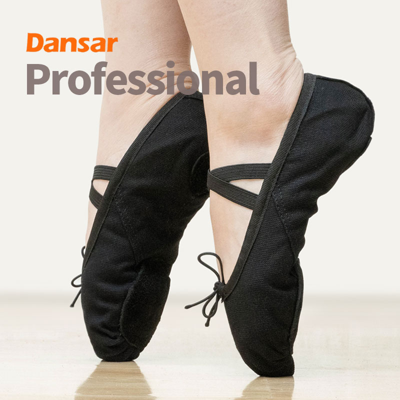 Pointe Dance Shoes For Women Men Girls Boys Children Kids,Ballet Shoes,Yoga Flat Slippers,Soft Sole Canvas Leather TrainingShoes