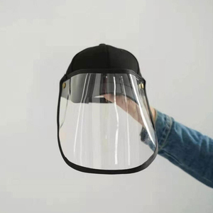 Image 5 - Anti Droplet Baseball Cap Hat With Removable Mask For Outdoor Anti Dust Face Shield Full Protective Mask