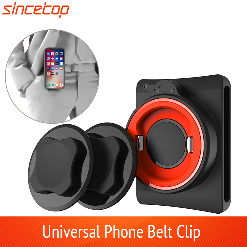 Universal Belt Clip Phone Holder With Quick Mount For Iphone 11 Pro XsMax 8 Plus 7 For Samsung Galaxy Note 8,S8 For Huawei Phone