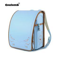 Coulomb Japan Kinderen Schooltas Voor Meisjes Kid Orthopedische Rugzak Voor Scholieren Bookbags PU Randoseru Tassen 2019 Nieuwe