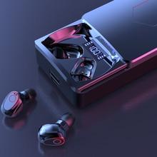 TWS Earphones Bluetooth Wireless 5.1 With 10000mAh Charging Box Headphones LED Display Sport Waterproof Hi Fi Earbuds Headsets