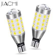 JIACHI لمبات السيارة LED ، مصباح وقوف السيارات الأبيض 12 24 فولت ، 100 قطعة ، 921 912 W16W T15