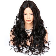 Brazilian Wavy Human Hair Wigs 360 Lace Frontal Wig 150 Density Remy 370 Lace Wig 6 Inch Part Pre Plucked For Women Glueless Wig(China)