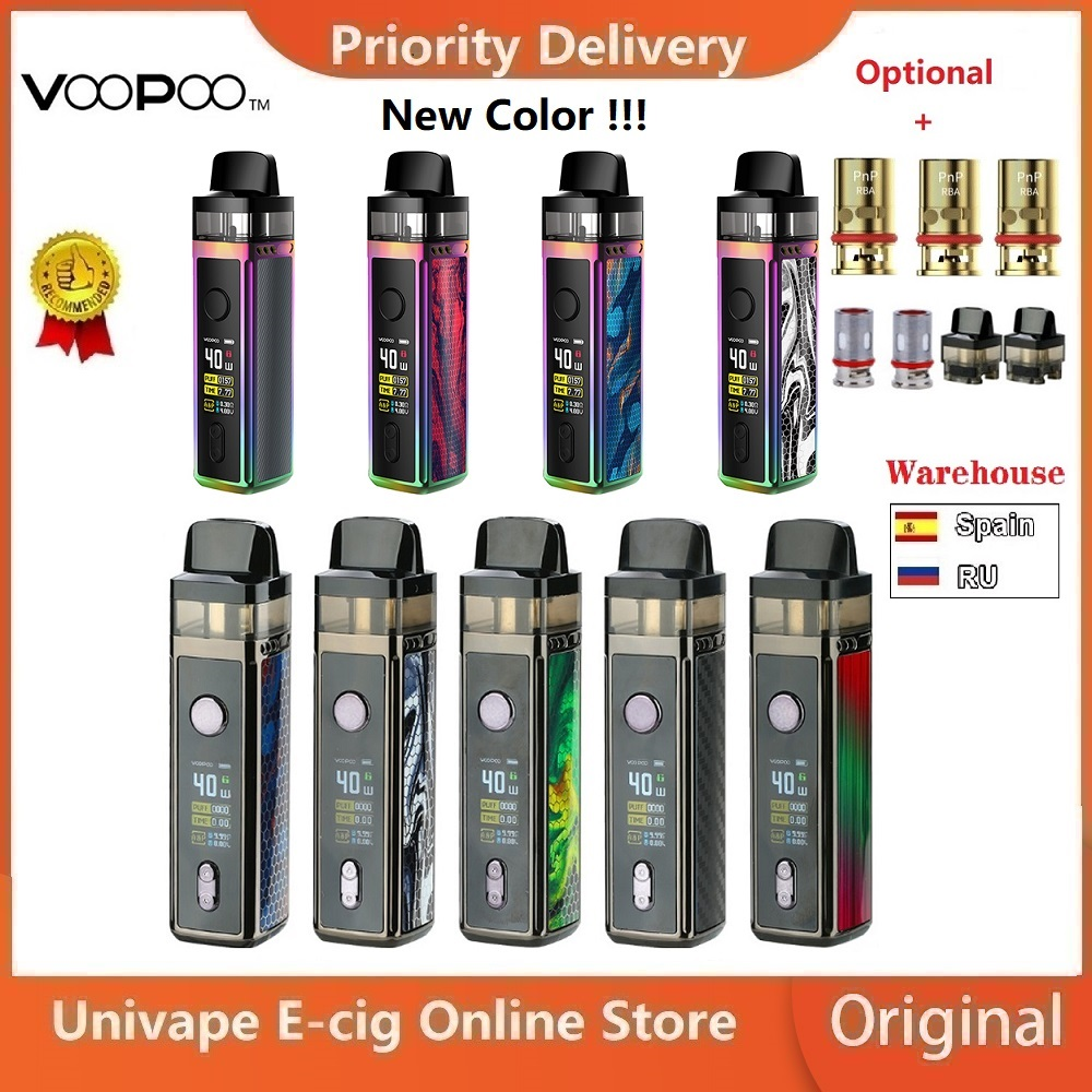 Spain In Stock!! VOOPOO VINCI Mod Pod Vape Kit W/ 1500mAh Battery & 5.5ml Pod Electronic Cigarette Vape Kit Vs Drag Nano/ Drag 2