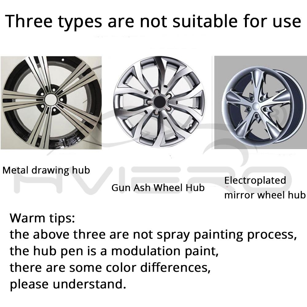 Car Paint Scratch Repair Pen Wheel Touch Up Paint Cleaner Painting Pens Marker Pen Brush Paint Car Tyre Tread Care Spray Paint 4
