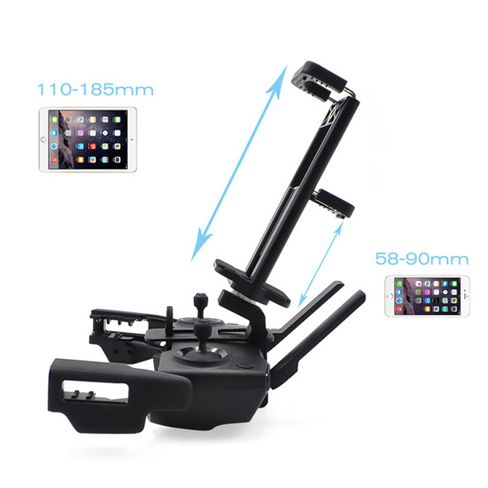 Adjustable Monitor Clip Mount Holder For DJI Mavic Mini Drone Remote Control Phone Tablet Portable Front View Monitor Clip