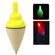 Led Electronic Fishing Float Seawater Sea Rock Plastic Fishing Float Squid Electronic Induction Drift Buoy Fishing Tackle Access(China)