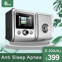 BMC GII Auto maszyna CPAP E-20A/AJ sprzęt medyczny do bezdechu sennego wibrator anty chrapanie wentylator z nawilżacz maski CPAP