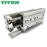 MXQ12 10AS/20AS/30AS/40AS/50AS/75AS/100AS MXQ12 10AT/20AT/30AT/40AT/50AT/75AT/100AT YIYUN cylinder Air Slide Table MXQ Series
