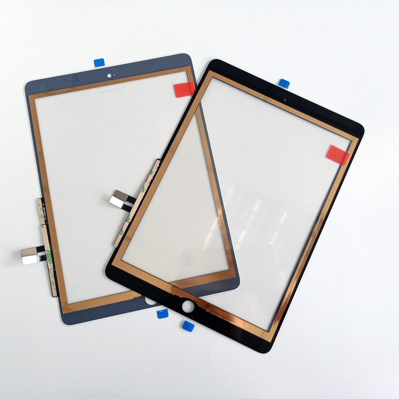 For iPad 2018 Touchscreen Digitizer For iPad 6 iPad 9.7 2018 Touch Screen Glass Panel Replacement Sensor A1893 A1954