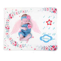 Manta de hito para bebé, para niñas, niños, recién nacidos, accesorio de fotografía, edredón envolvente súper Franela suave para cama infantil, Toalla de baño para niños