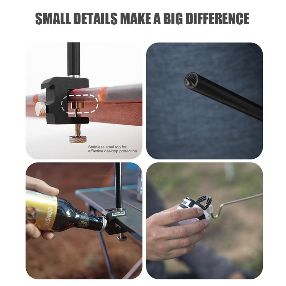 Multifunctional Outdoor Camp Lamp Pole Kit 4