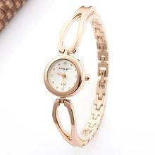 Top Brand Luxury Rose Gold Watches Women Watches Fashion Women Dress Watches Quartz Quartz Wristwatches Bracelet Bangle Watches цена и фото