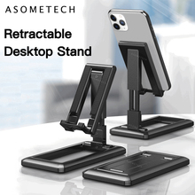Desk Mobile Phone Holder Adjustable Desktop Tablet Stand Universal Table Cell Phone Support For iPhone Samsung Xiaomi Huawei
