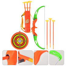 1 Set Children Imitation Bow Arrow Toys Funny Outdoor Sports Shooting Playthings