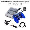 8 / 64 bits hdmi/av tv vídeo game console handheld retro mini joysticks sobre 1000 jogos clássicos apoiar vários dispositivos presente