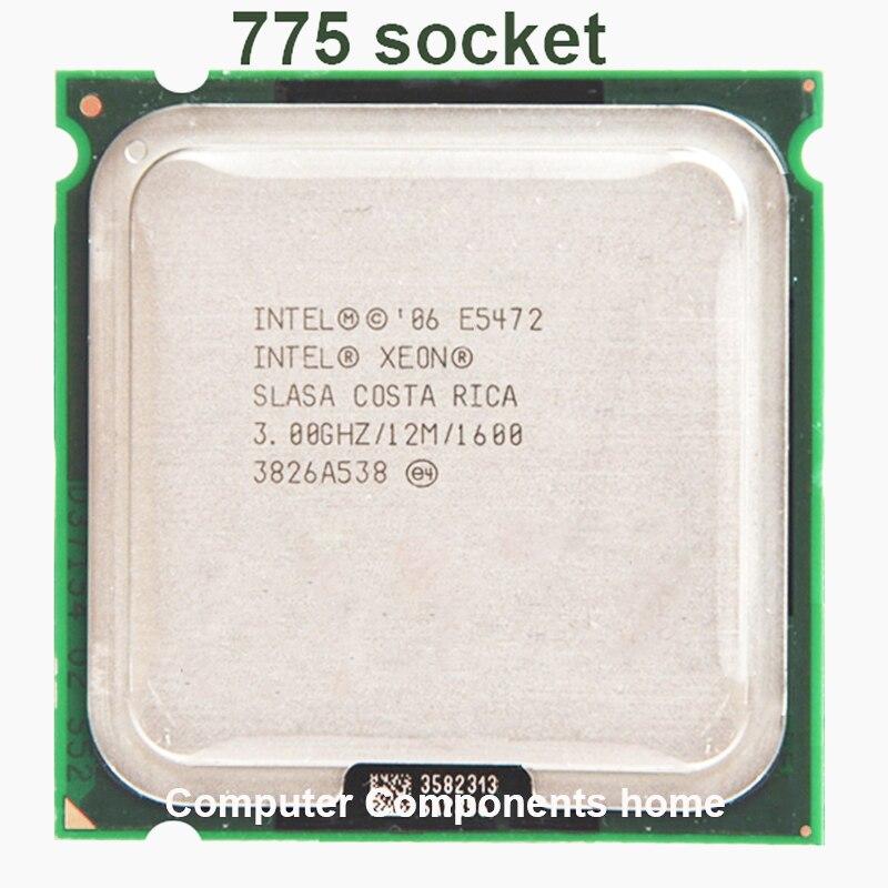 INTEL Xeon CPU E5472 Funciona em LGA775 LGA775 12M 80W Quad-Core de 3.0GHz CPU