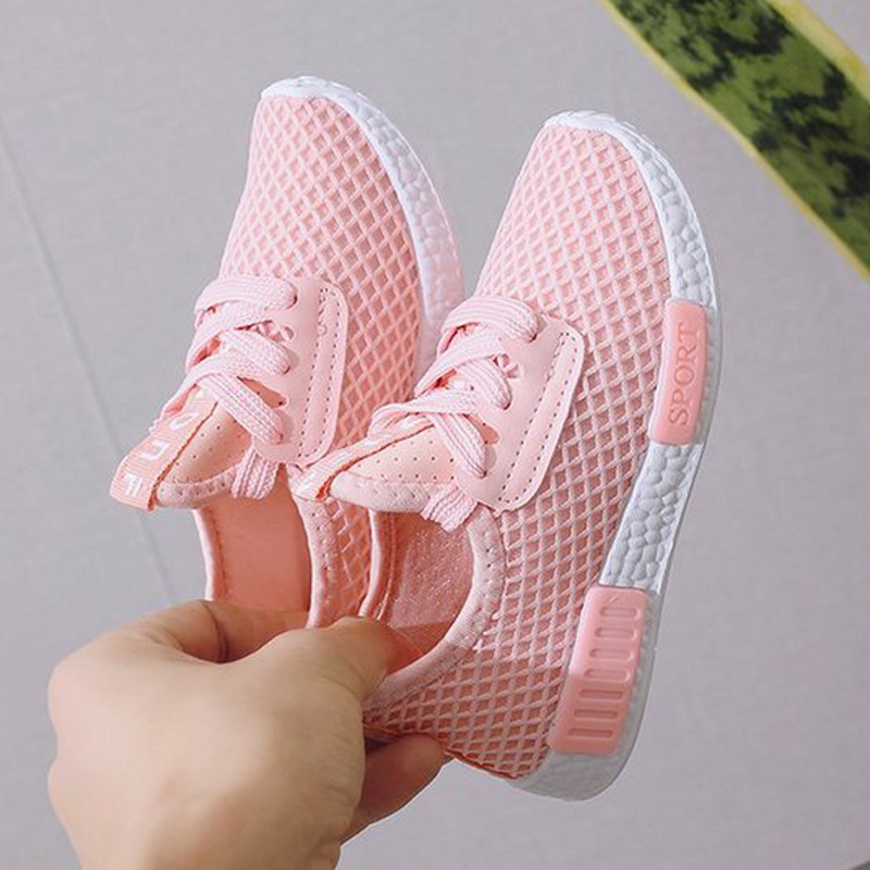 Kid Running Sneakers Summer Children Sport Shoes Tenis Infantil Boy Basket Footwear Lightweight Breathable Girl Chaussure Enfant title=