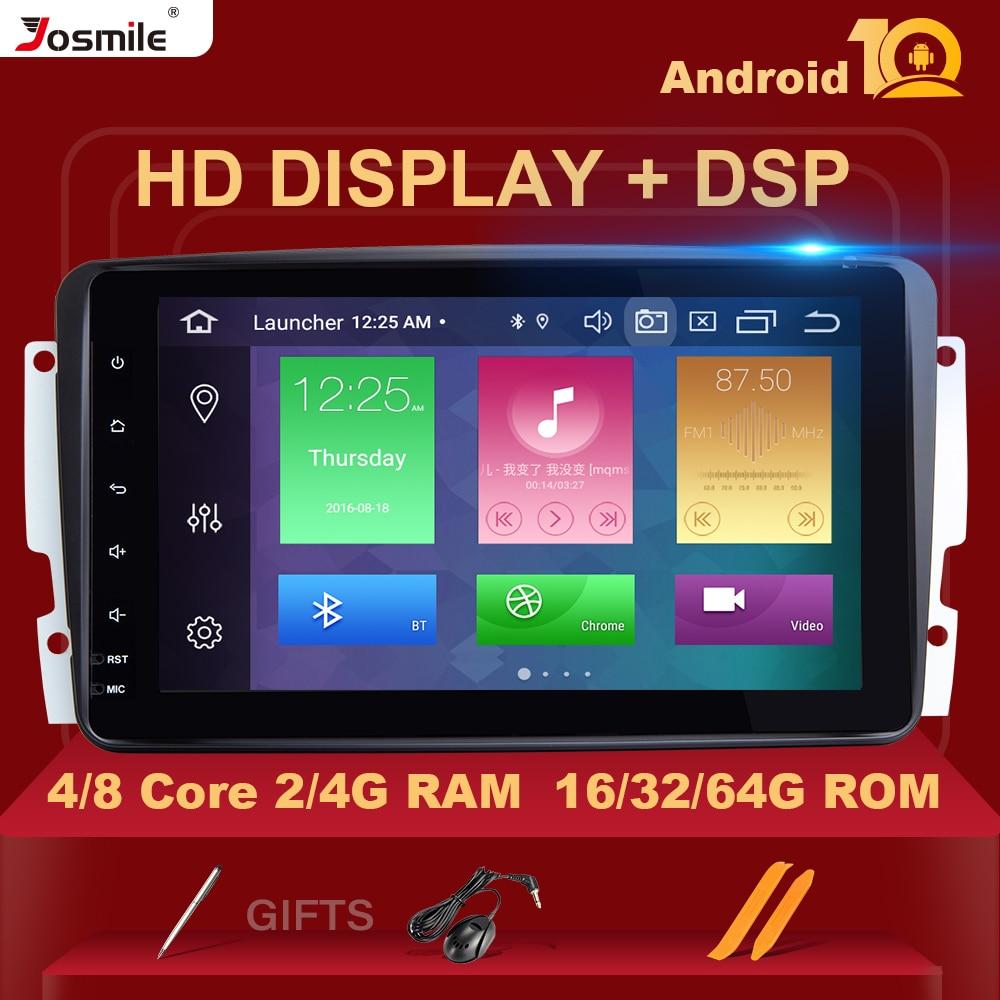 DSP 2 Din Android 10 samochodowy odtwarzacz multimedialny dla W203 Mercedes Benz Vito W639 W168 Vaneo Clk W209 W210 M/MLRadio Audio nawigacja