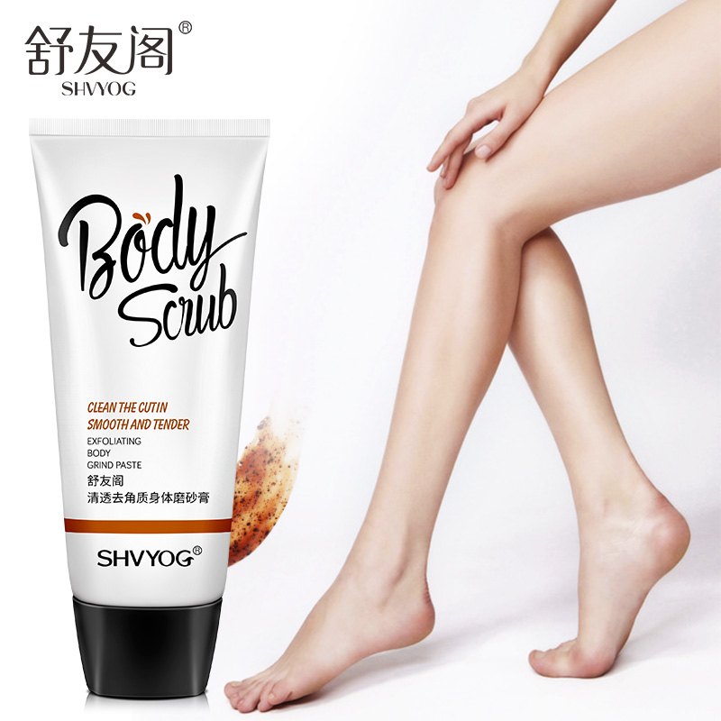 SHVYOG Body Scrub Exfoliating Gel Face Foot Hand Facial Coffee Scrubs Organic Peeling Remove Horny Dead Skin Care Exfoliante