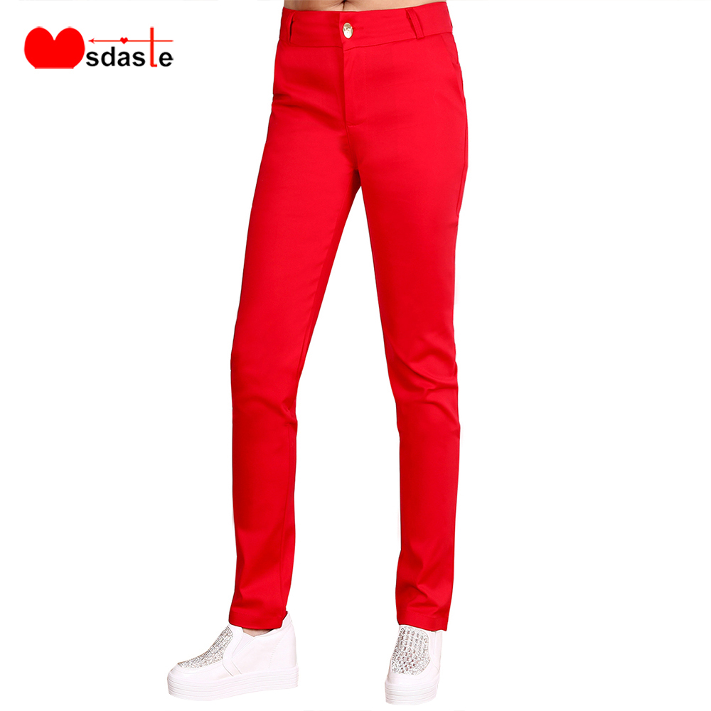 Women Pants 2020 Spring Office Lady Work Wear New Fashion Ladies Pencil Pants High Quality Casual Female Slim Bodycon Trousers