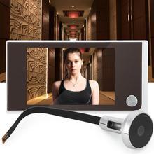 """Digitale Tür Viewer Türklingel 3.5 """"SN 35A LCD 120 Grad Guckloch Viewer foto visuelle überwachung elektronische cat eye kamera"""
