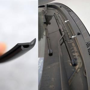 Image 3 - H タイプ 2 メートルのゴム車シールフロントガラス弾性バンドフロントリアダッシュボードのフロントガラスサンルーフ防塵ためにストリップをシール自動