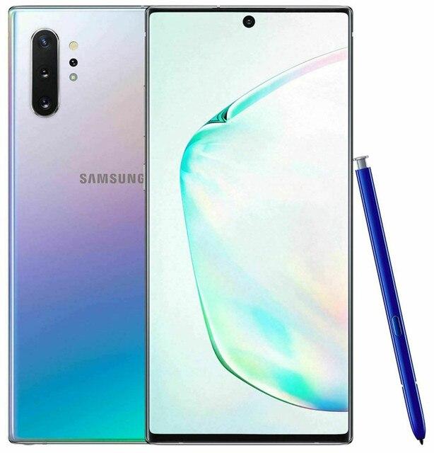 "Samsung Galaxy Note 10 Plus Note10+ Duos N975FD Dual Sim Global Version 12GB 256GB 6.8"" Exynos 4G LTE Original Cell Phone 2"